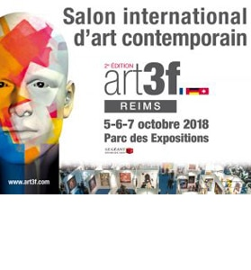 Exposition de Vittoretti au Salon International d'Art Contemporain de Reims