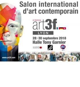 Exhibition at LYON ART3F on 28-29-30 September
