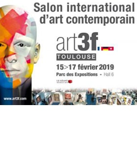 Exposition au Salon International d'Art Contemporain de Toulouse